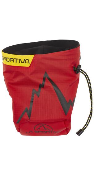 La Sportiva Laspo chalkbag rood/zwart